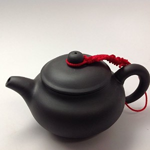 Yixing Tea Pot with 6oz Capacity High Recommend Black #212 by Music City Tea