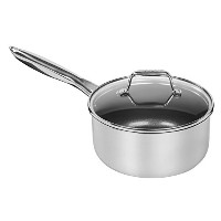 3 QT Stainless Steel Covered Saucepan [並行輸入品]