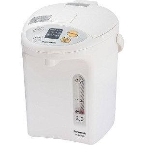Panasonic NC-EG3000 Electric Thermo Pot, 3.2 quart, White [並行輸入品]