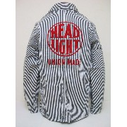 HEADLIGHT[ヘッドライト] カバーオール HICKORY STRIPE WORK JACKET Made In USA (ヒッコリー)