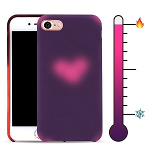 """For iPhone 6/6s Plus 5.5"""" Soft TPU Case Magical Stylish Color Changing Heat-Sensing Case Fluorescent..."""