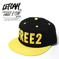 (レフラー)LEFLAH FREE 2 CAP -YELLOW-
