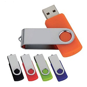 J-boxing USB Flash Drive 4GB Colorful USB Flash Drive Pack of 5 - 5 Colors (4GB)