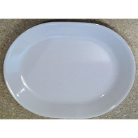 Corelle Livingware Winter Frost White 12-1/4 Serving Platter by Corelle by Corning