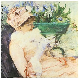 BLN印象派Fineアートコレクション–The Cup of Tea by Mary Cassatt–Drawing Book 12x12 memory book db_127315_2