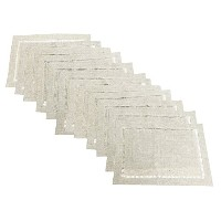 Fennco Styles Linen Blend Hemstitch Natural Placemat Set - by fenncostyles.com