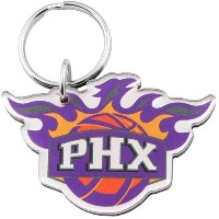 NBA チームロゴ アクリル キーチェーン サンズ Phoenix Suns Team Logo High Definition Keychain