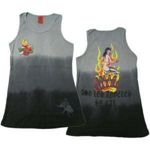 A&G TANK TOP MEN'S [HELLES BELLES]リブタンクトップ