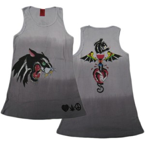 A&G TANK TOP MEN'S [DOUBLE JAGUAR]リブタンクトップ