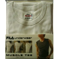 【メール便OK】FILA MUSCLE TEE 【BODY BASIC】Y Muscle