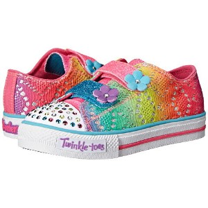 kid) (toddler little スケッチャーズ skechers kids twinkle toes shuffles 10626n lights