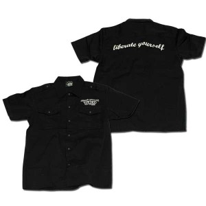 Military Shirts ブラック one by one clothing
