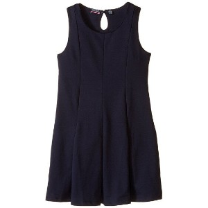 kids) (big ノンスリーブ ドレス nautica kids sleeveless pleat dress