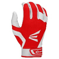 イーストン レディース 野球 グローブ【Easton HF VRS II Fastpitch Batting Gloves】White/Red