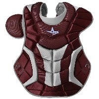 オールスター メンズ 野球 プロテクター【All Star System 7 Ultra Cool Chest Protector】Maroon