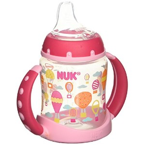 Nuk BPA Free Trendline Learner 5oz Cup Silicone Spout Whimsy 1 PK Colors Vary by NUK