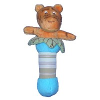 Classic Pooh Plush Stick Baby Rattle - Tigger by Kids Preferred