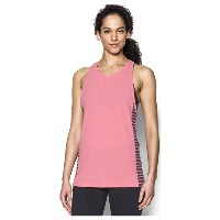 アンダーアーマー レディース トップス タンクトップ【Under Armour Favorite Tank】Perfection Light Heather/Carbon Heather