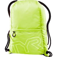 TYR(ティア) プールバッグ DRAWSTRING SACK PACK LPSO2 イエロー FREE