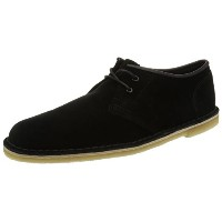 17SS クラークス(Clarks) Jink Black/Blk Suede メンズ 【RCP】 【送料無料】