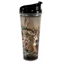 American Expedition野生生物コラージュ24oz Tall Tumblers TB24-302