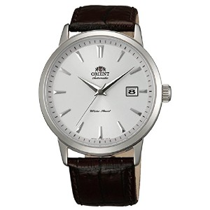 ORIENT(オリエント) FER27007W0 SYMPHONY WHITE DIAL BROWN LEATHER BAND MEN'S WATCH 男性用 メンズ 腕時計 [並行輸入品]