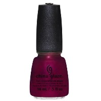 CHINA GLAZE Nail Lacquer - Autumn Nights - Red-Y & Willing (並行輸入品)