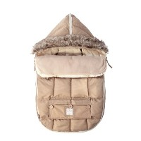 7AM Enfant Le Sac Igloo Footmuff, Converts into a Single Panel Stroller and Car Seat Cover - Beige...