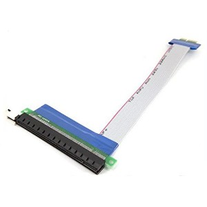 (Do well) PCI - Express x1 to x16 延長 変換 ケーブル カード 長さ 約 30cm A235