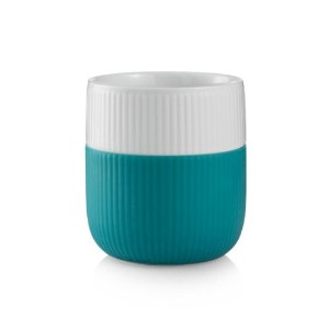 Royal Copenhagen Contrast Mug Turquoise 11 Oz by Royal Copenhagen
