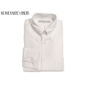 INDIVIDUALIZED SHIRTS(インディビジュアライズド シャツ)/L/S STANDARD FIT B.D. REGATTA OXFORD SHIRTS/white