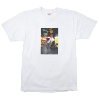 SUPREME シュプリーム ×COMME des GARCONS 14SS Tee フォトプリントTシャツ 白 XL 並行輸入品