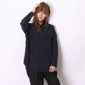 【SALE 55%OFF】アトモス atmos LAB BIG POCKET SHIRT (NAVY)