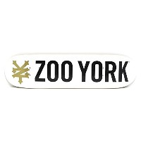 ZOO YORK DECK(ズーヨーク)デッキ TEAM PHOTO INCENTIVE・WHITE・7.75