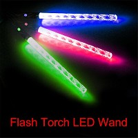 LuxBene(TM)BS#S LED Magic Wand Color Changing Flash Torch Party Concert Glow Light Stick