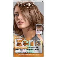 LOreal Feria Hi Lift Multi Faceted Shimmering Hair Color, B61 Downtown Brown, Cool Brown - 1 Ea ...