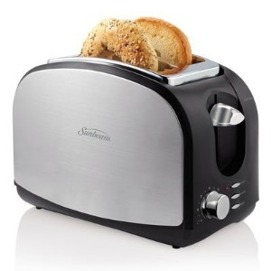 Sunbeam Brushed Stainless Steel 2-slice Toaster with Extra Wide Slots by Sunbeam [並行輸入品]