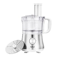 VonShef 4.5 Cup Powerful Food Processor Blender Chopper Multi Mixer, Silver - 2 Speed and Pulse...