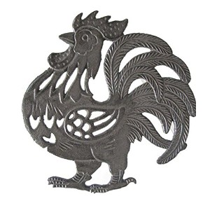 Cast Iron Rooster Shaped五徳
