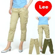 【50%OFFセール】LEE (リー) -Lady's- CROPPED CARGO PANTS/クロップドカーゴパンツ【smtb-k】【ky】