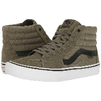 (取寄)VANS(バンズ) スニーカー SK8-ハイ プロ メンズ VANS Men's SK8-Hi (Dakota Roche) Burnt Olive/Black