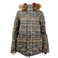 バートン BURTON 15-16 ZANY JACKET (Knock On Wood) Mサイズ 10098102011 レディース