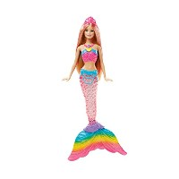 [バービー]Barbie Rainbow Lights Mermaid Doll DHC40 [並行輸入品]