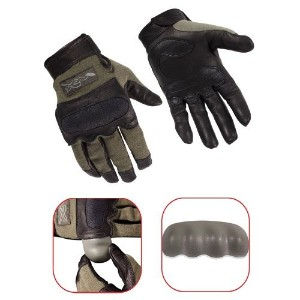 Wiley X Hybrid Gloves Foliage Green Large G242LA by Wiley X