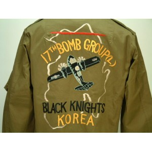 Buzz Rickson's (バズリクソンズ) L-2 17th BOMBARDMENT GROUP(L) BLACK KNIGHTS 送料無料 【smtb-TK】