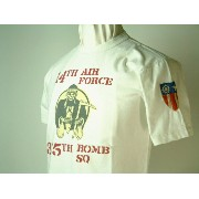 "Buzz Rickson's (バズリクソンズ)S/S Tシャツ14TH AIR FORCE""375TH BOMB SQ"""