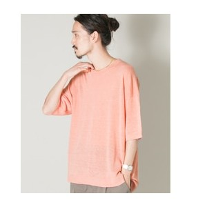 UR LINEN BIG KNIT T-SHIRTS【アーバンリサーチ/URBAN RESEARCH ニット・セーター】