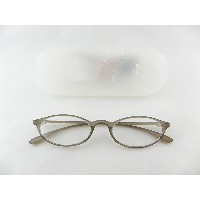 [BelleetClaire 老眼鏡] ベルエクレール 老眼鏡 92334-フィッツ-ライトBR+2.50 新品 めがね メガネ ケース付 おじいちゃん ギフト 正規品