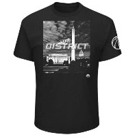 Washington Wizards Majestic 2017 NBA Playoffs Participant Victory In Sight T-Shirt メンズ Black NBA...