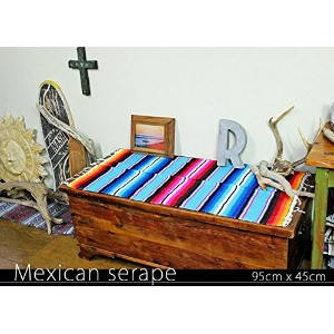 RUG&PIECE Mexican Serape made in mexcico ネイティブ メキシカン サラペ メキシコ製 (rug-5534)